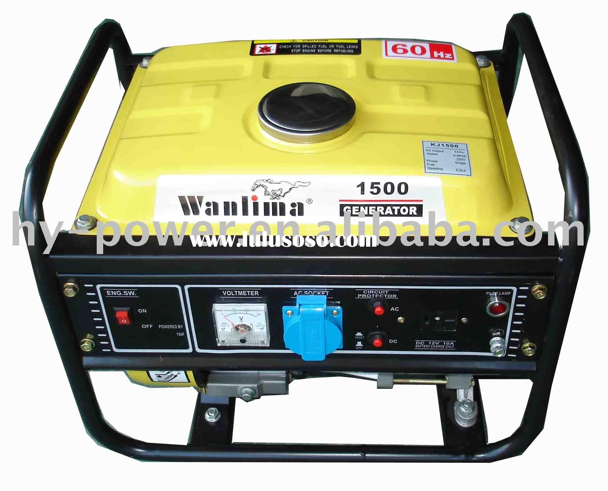 HYG1500CX air cooled portable gasoline generator set