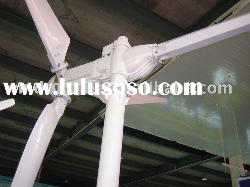 Horizontal Axis Rare Earth Permanent Magnet Wind Turbine Generator 5KW CE approve