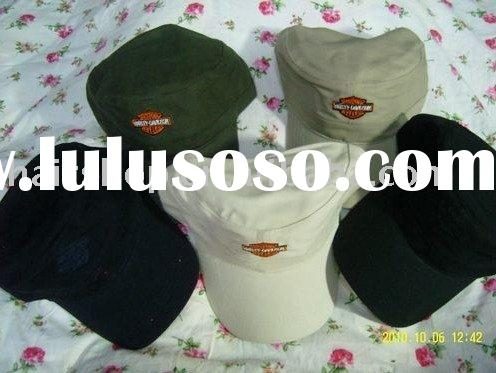 Paypal!!Harley Davidson Men's Flat Top Cap,Harley Cotton Caps for men,free shipping