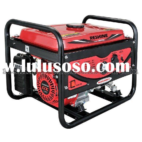 RS2500GX-II 2KW PORTABLE GASOLINE GENERATOR SET POWERED BY HONDA GX160