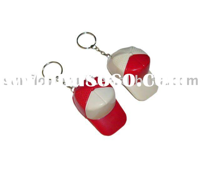 baseball cap bottle opener with key chain/flute
