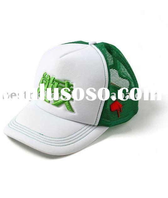 embroidery mesh cap