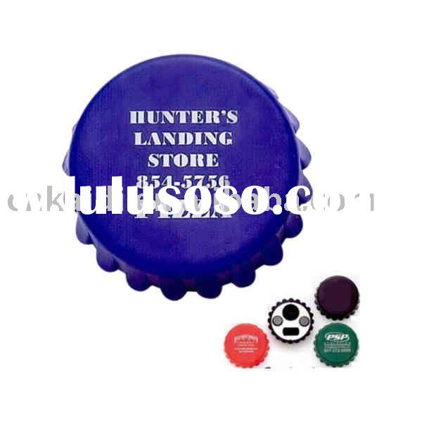 promotion bottle opener cap with magnet