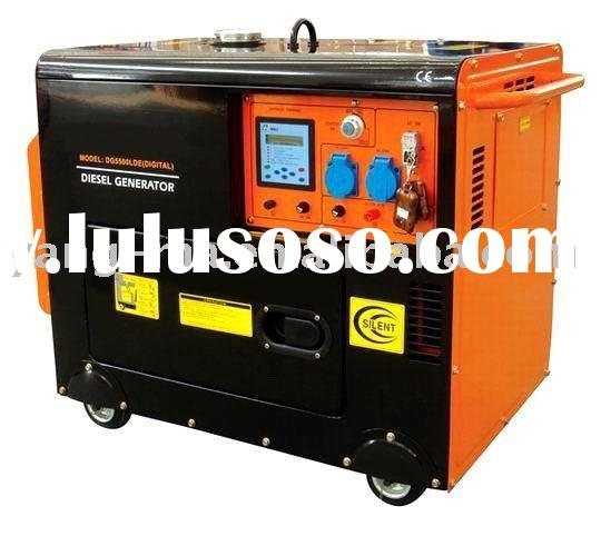 yanmar type engine power portable silent diesel electric generator