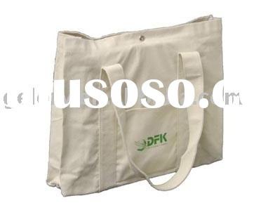100% canvas cotton bag with small pocket