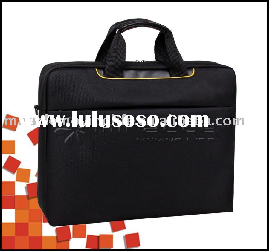 15.6'' nylon laptop case with shoulder strap (NH-1027)
