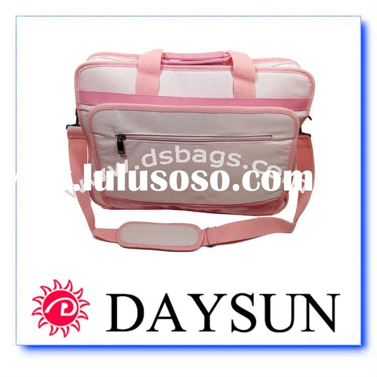"17""15""Laptop Notebook carrying bag case for Pink bag"