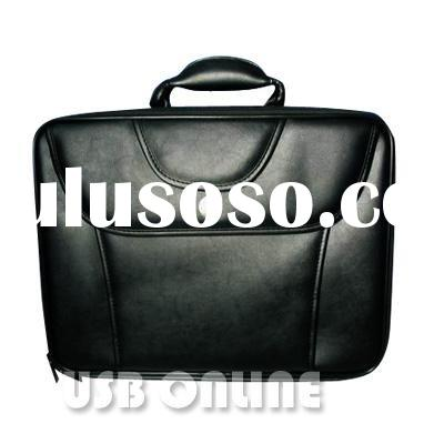17 inch limitation leather notebook bag for DELL