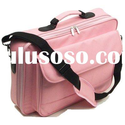 2010 multifunction pink laptop case/computer holder/computer bag