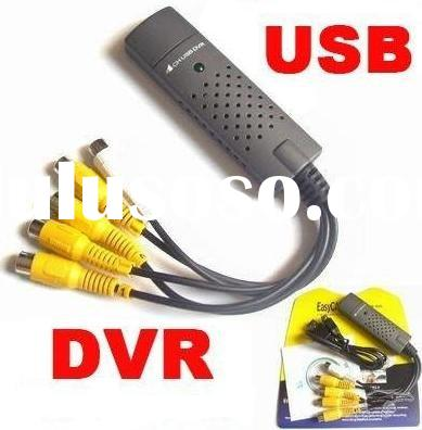 4 CHANNEL USB DVR Video Audio Capture Adapter Easy Cap