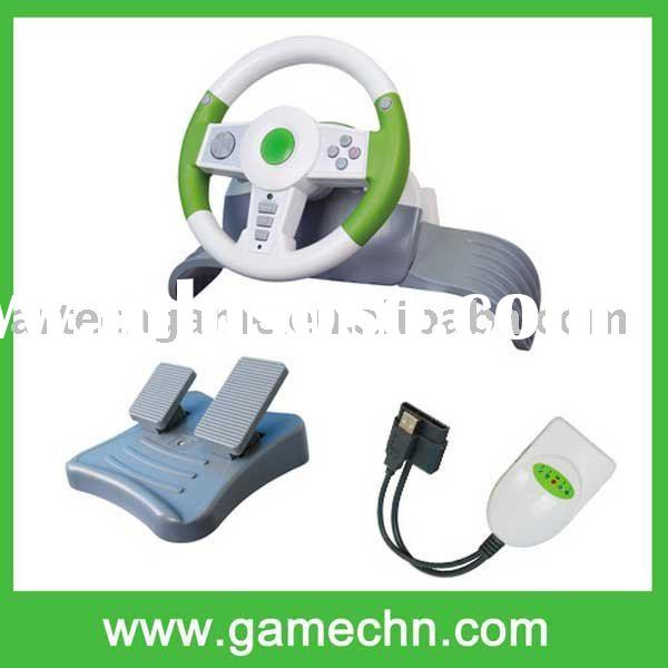 4in1 2.4G Wireless racing wheel for PS3 XBOX360 PS2 USB
