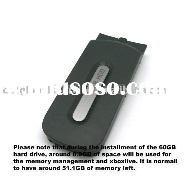 60GB HARD DISK DRIVE HDD FOR MICROSOFT XBOX 360