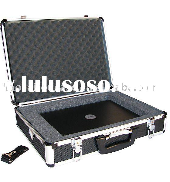 ALUMINUM LAPTOP BRIEFCASE CAMERA ATTACHE HARD CASE BAG