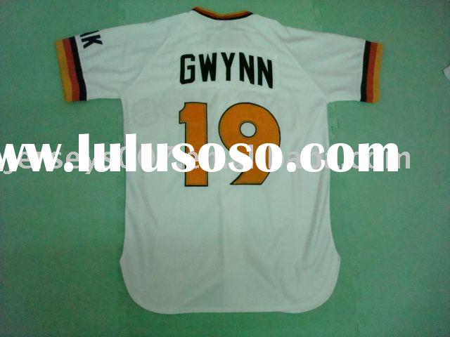 Authentic San Diego Padres 1984 Tony Gwynn #19 baseball jerseys,accept paypal