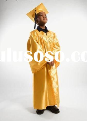 Children Graduation Gown/Cap/Tassel (one set)