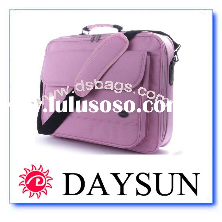Pink Laptop bag case Fits 15-17""