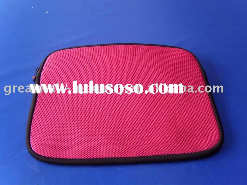 Pink mesh laptop sleeve, briefcase, computer bag, laptop bag, backpack