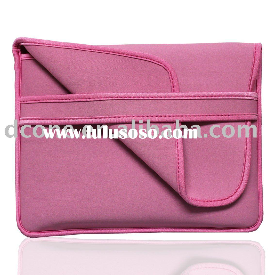 Reversible Neoprene Laptop Case for MiniNote pink laptop cases