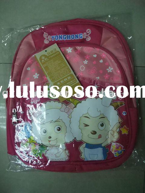 ($2.7 cheap pink )  child's school bag