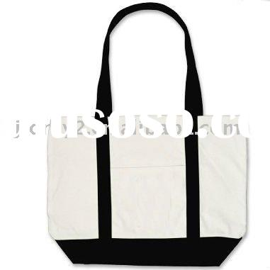 fashion custom 100% cotton canvas promotional bags shopping bolsas