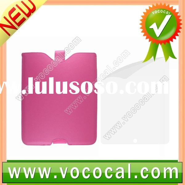 for Apple iPad Leather Case Cover with Screen Protector