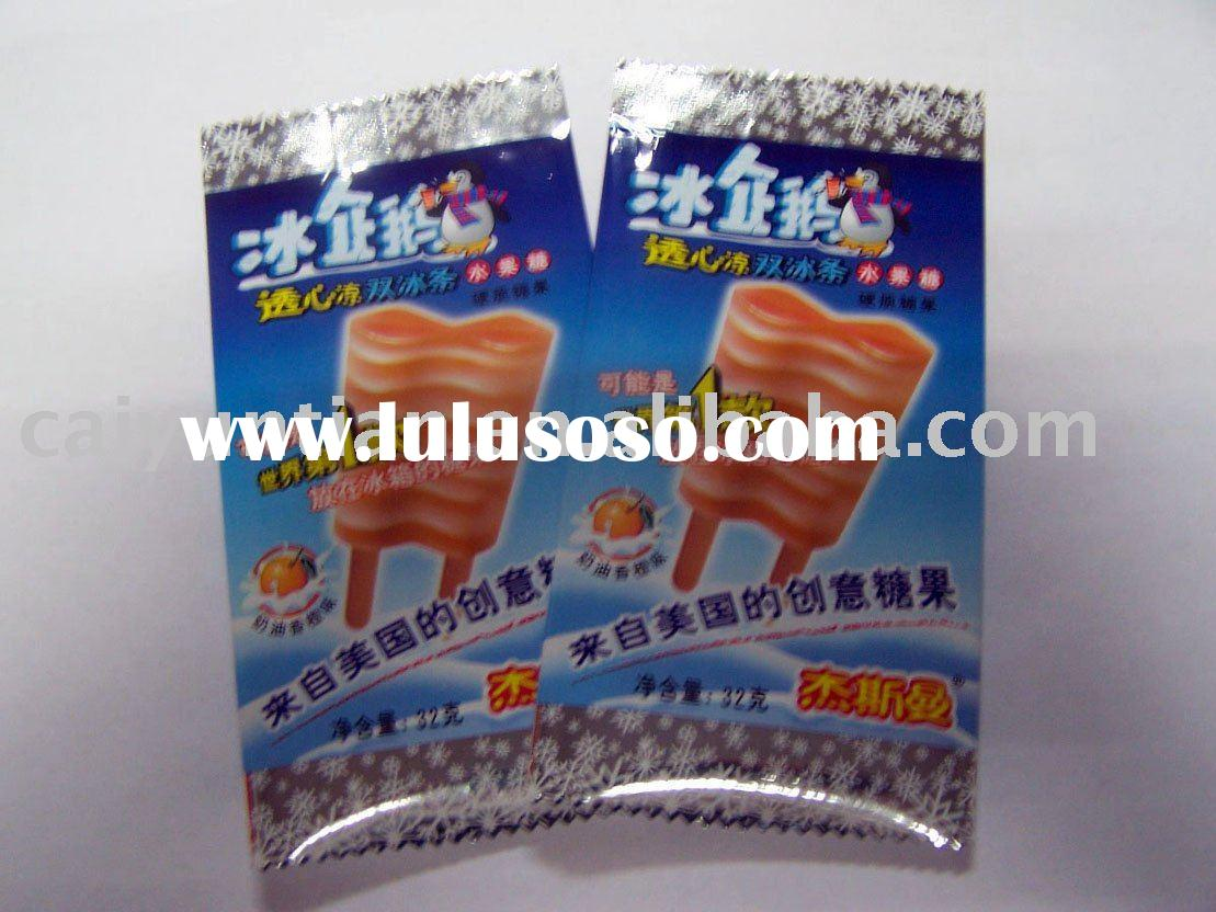 plastic packaging bag used for food&ice-cream