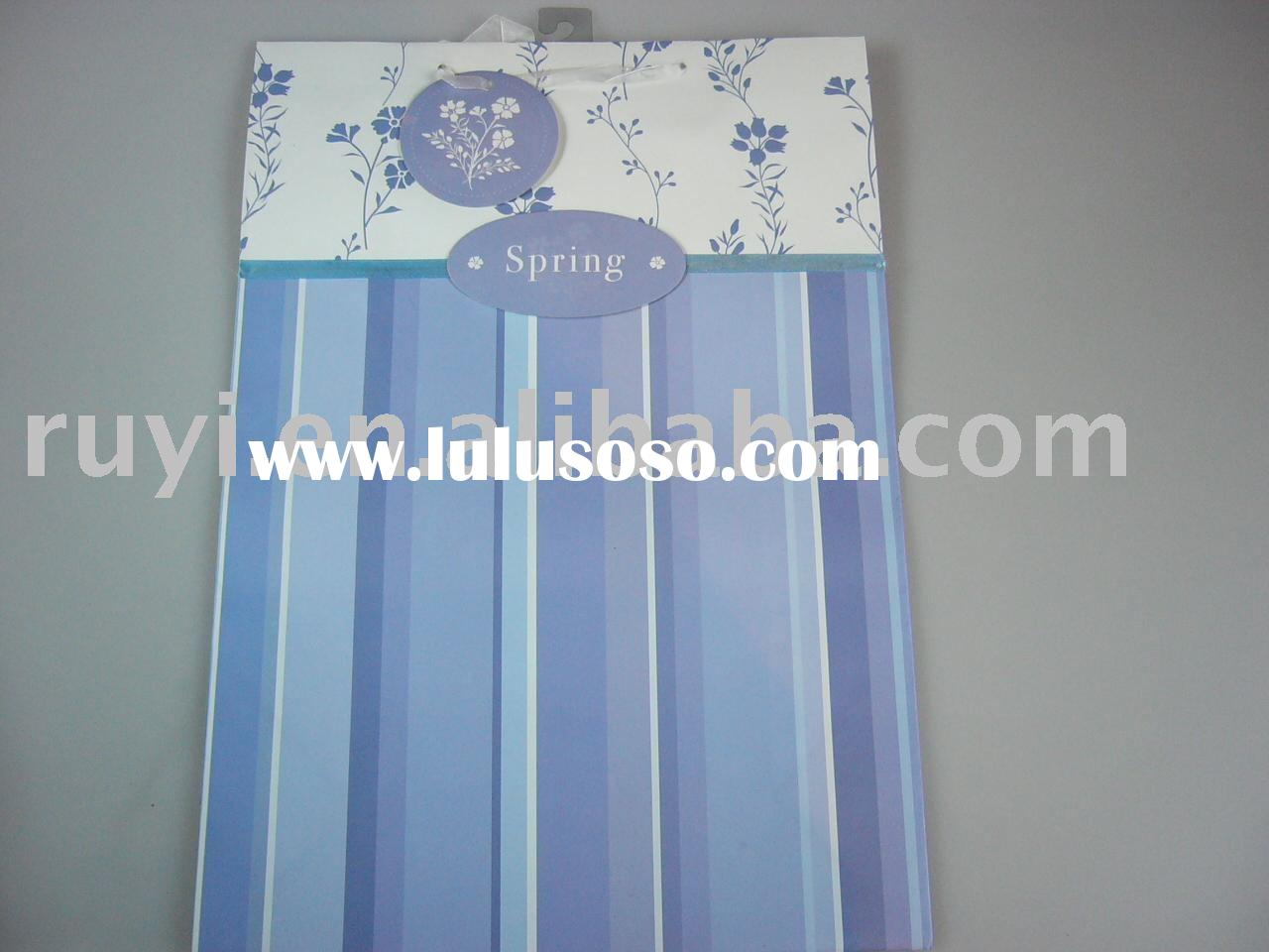 various paper shopping bag, craft paper bag,carrier bag for Christmas/birthday/holiday gift
