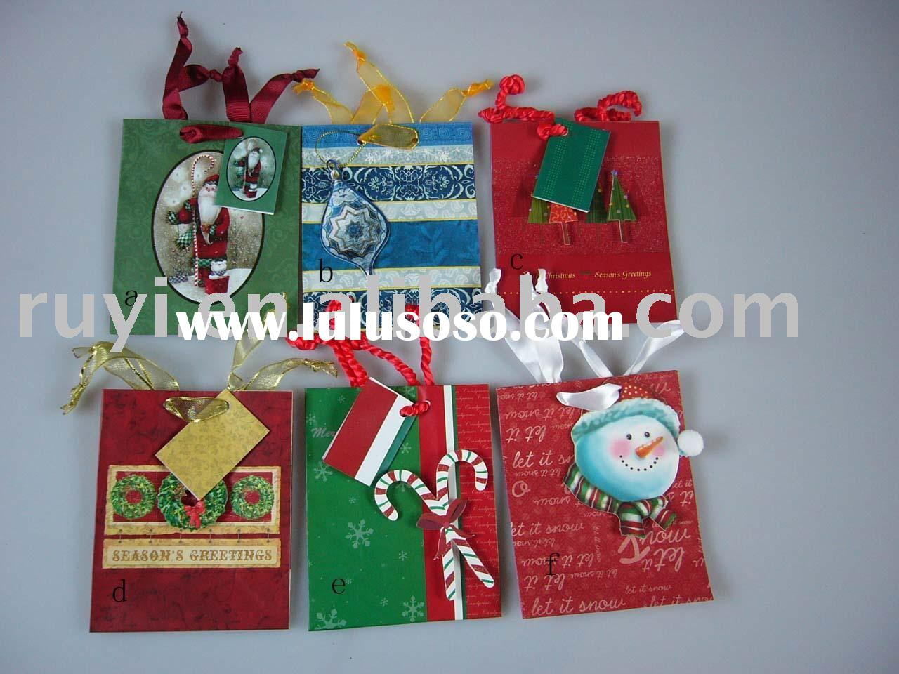 various paper shopping bag,die cut paper , craft paper bag,promotion bag for Christmas/birthday/holi
