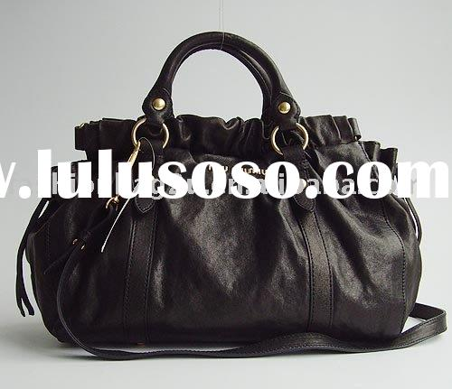 2010 black leather bags  wholesale