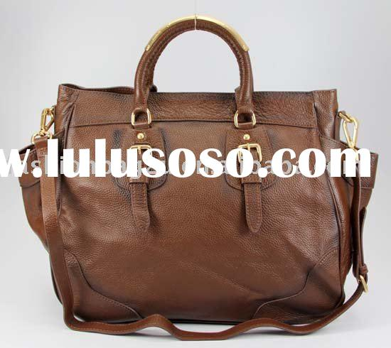 2010 new brown large leather bags
