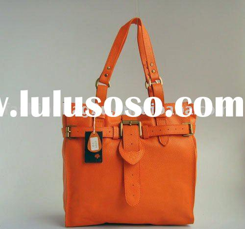 orange designer handbags