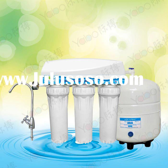 5-stage under sink RO 125 G No Pump water purifier/RO water filter/RO system