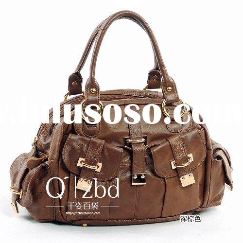 Dark Brown  2010  Well Received Beautiful Leather Bag