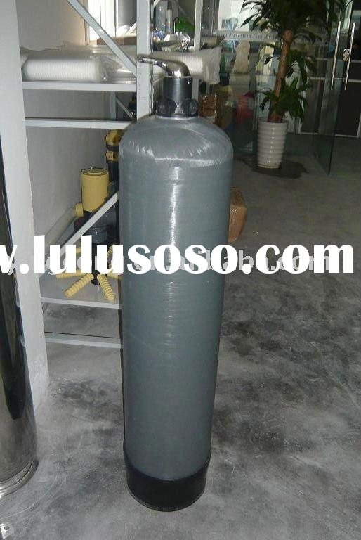 Soft water filter by softener tank (remove iron in water)