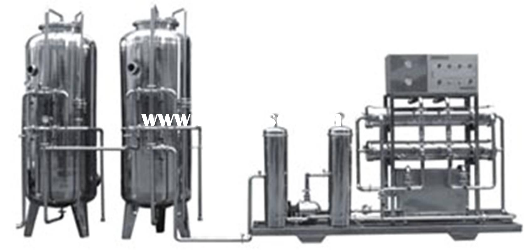 Water processing(natural equipment for mineral water and purified water)