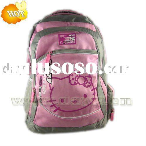 Wholesale Hello kitty Shoulder bag School Bag Backpack bag messenger Bag children F0179