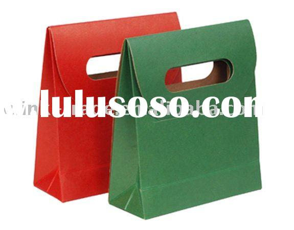 craft paper bag/handle paper bags/gift  bag