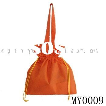 non woven handle bag with drawstring
