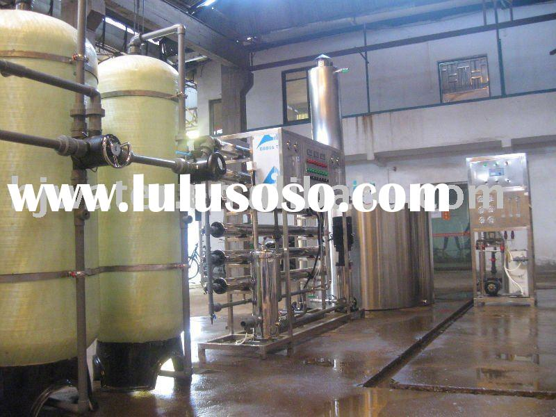 water recovery-automatic water softener plant