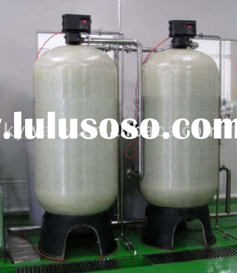 water softener for water treatment system