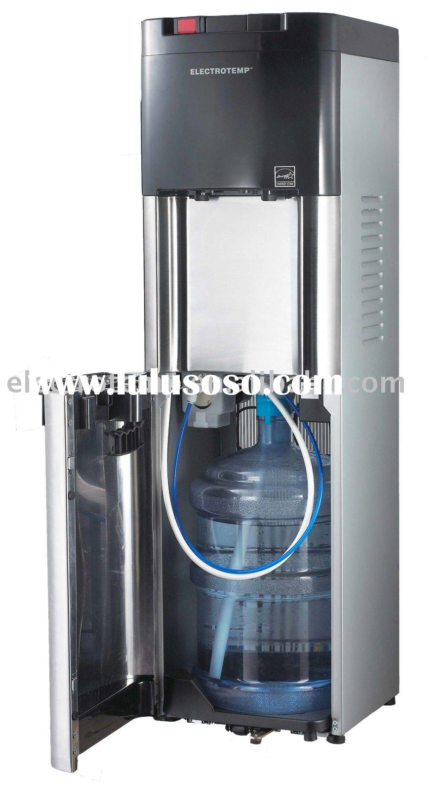 Office Grade Cold and Hot Stainless Steel Bottled Water Dispenser