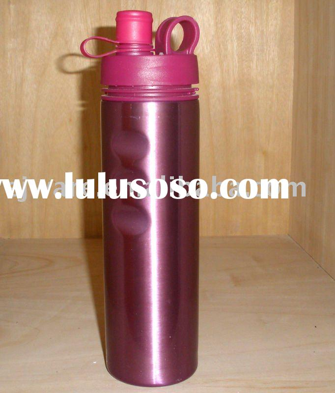 food grade stainless steel colorful sports bottle with FDA,SGS,LFGB approved