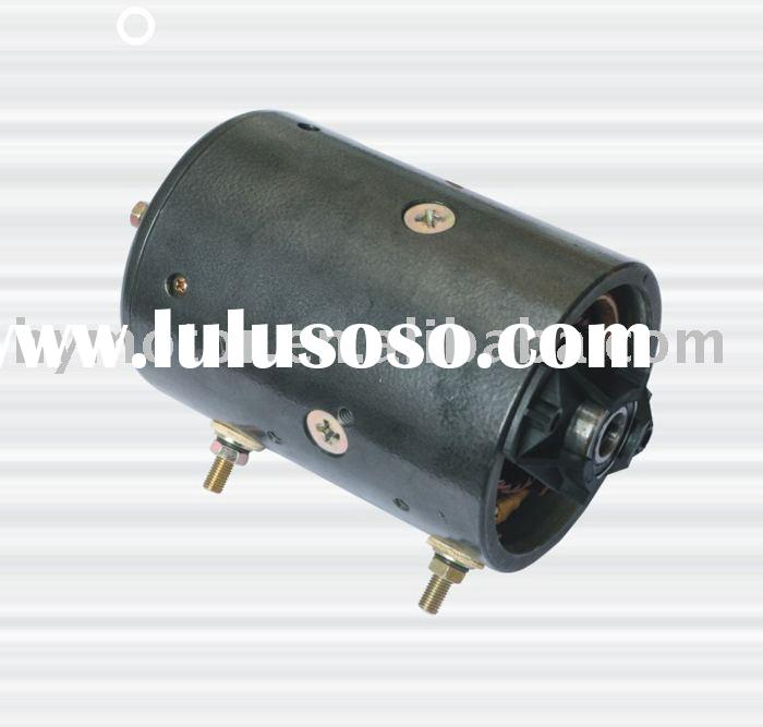 12V hydraulic unit.HY61053 dc motor   oil pump dc motors