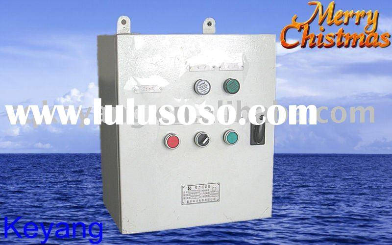 380V marine fuel oil dirty pump control box  /marine magnetic starter