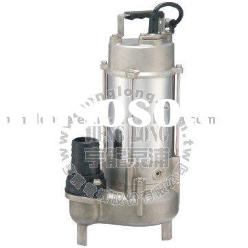 Non-clog SUS#316 Stainless steel Submersible Pump with vortex impeller
