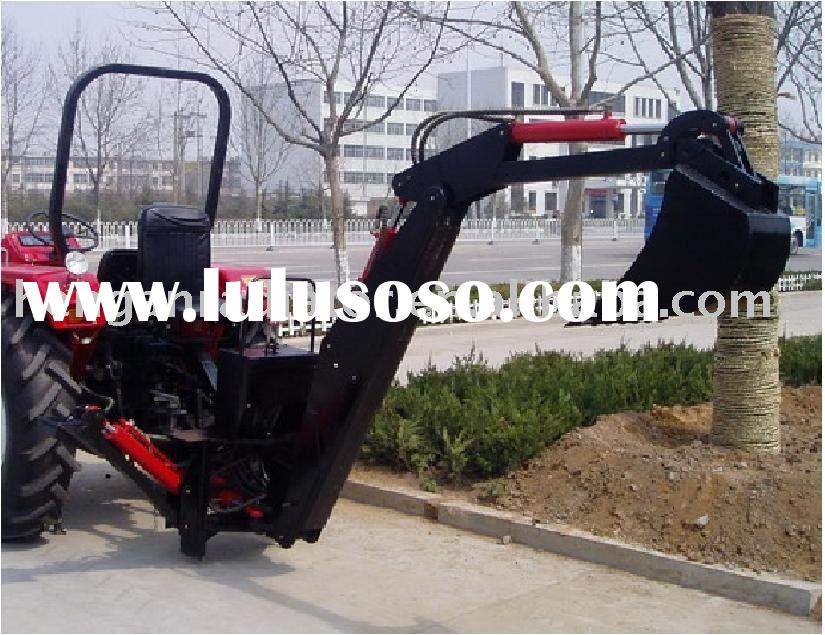 PTO backhoe loader for tractors