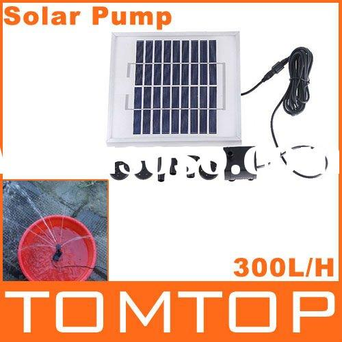 Polycrystalline Silicon Cycle/Pond Fountain Solar Fountain Solar Water Pump