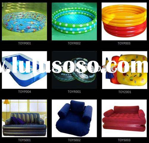 amusement park,swimming pool,swimming ring,plastic toys,ball,model toys, sofa,airbed