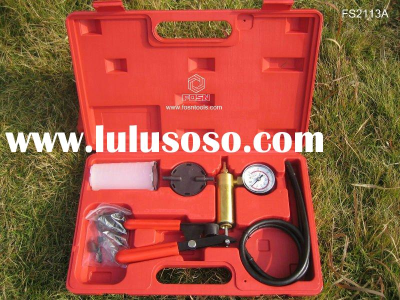 car pressure kit  Hand-held Vacuum Pump