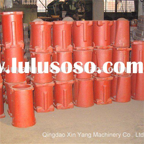 customized cast iron grundfos submersible pump housing